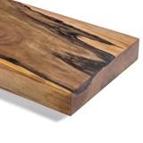 MODEL B0 floating shelf - one piece walnut wood 2