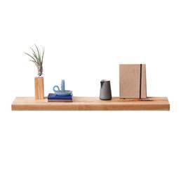 MODEL B0 floating shelf - one piece pear wood
