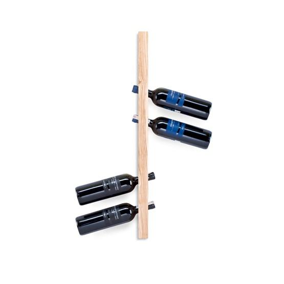 MODEL A wine rack - one piece ash wood - Design : TU LAS