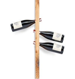 MODEL A wine rack - one piece wild cherry wood