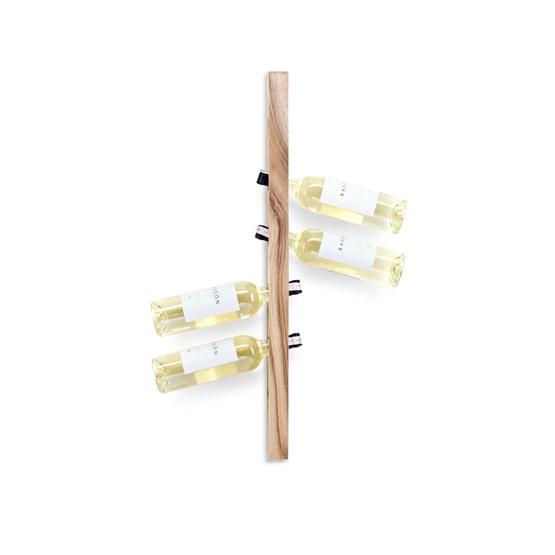 Wine Rack -  Walnut Wood  - Design : TU LAS