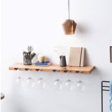 Wine Glass Rack -  Pear Wood  5