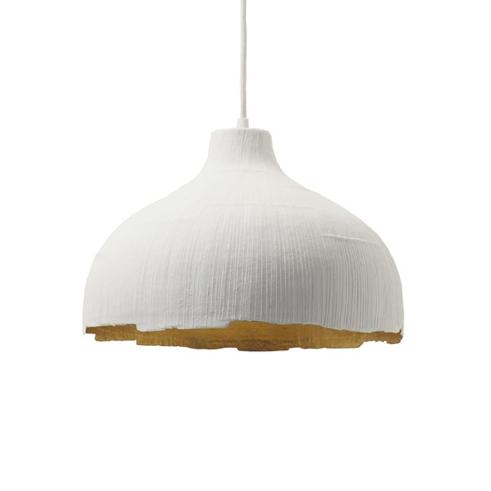 Suspension ALDRIC -  blanc & or    - Design : rom&an