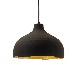 Pendant light ALDRIC - black & gold