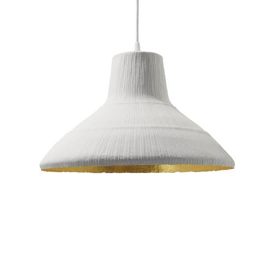 Suspension PETITE MARGAUX - blanc & or - Design : rom&an