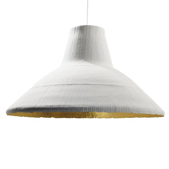 Pendant light ALDRIC - black & gold  - Design : rom&an