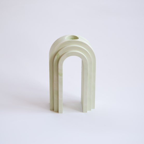 Vase / propagateur en marbre Scala - Olive - Design : Extra&ordinary Design