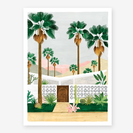Palmspring - Affiche - Design : All The Way to Say
