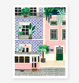 Lisboa - Affiche