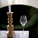 Candlestick OBI GM Recycled Brass 2
