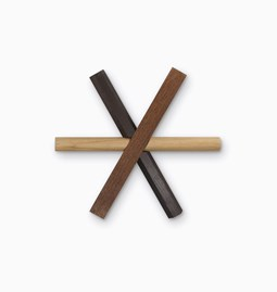 STICKS wooden trivet - Designerbox