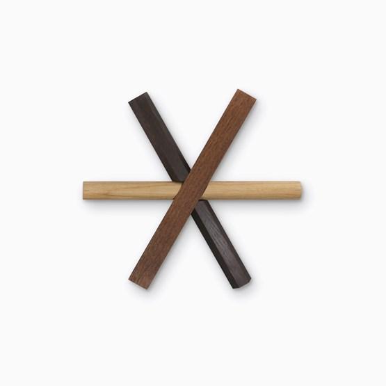 STICKS wooden trivet - Designerbox - Design : Dan Yeffet