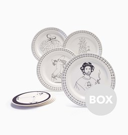 Assiettes FRISBEE - Box 45