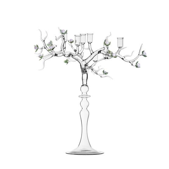 Chandelier Rose  - Design : Atelier Crestani