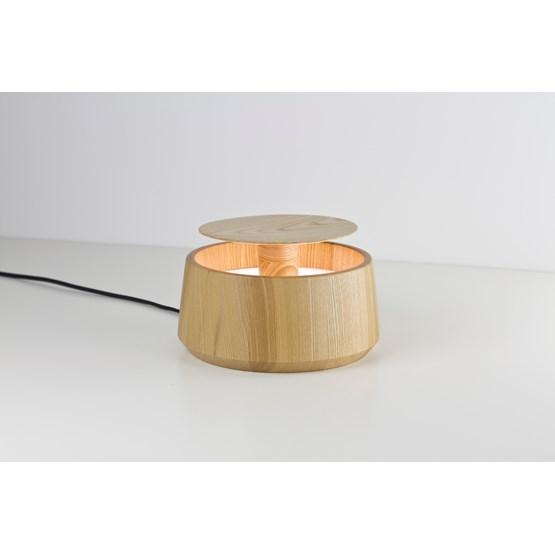 Lampe JAR - frêne - Design : Noon Studio
