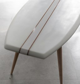Parlementia coffee table - white