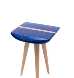 Cenitz stool - blue