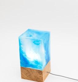Lampe Marbella - Bleue