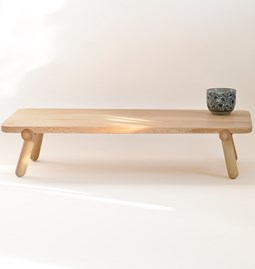 Folding coffee table Utility - London plane