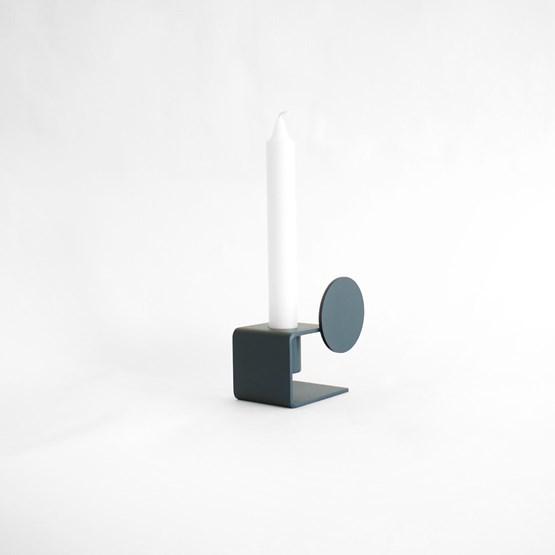 Candlestick - YVANNE - Blue - Design : Gaëlle Pinel Studio