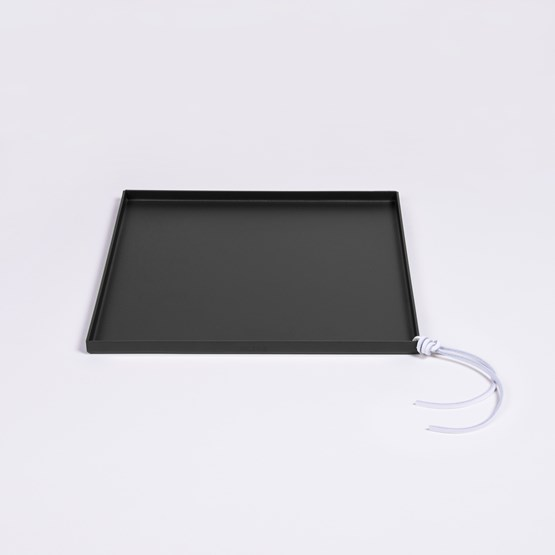 Tray CADIE  small square - Black - Design : Gaëlle Pinel Studio