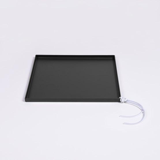 Tray CADIE square - Black - Design : Gaëlle Pinel Studio