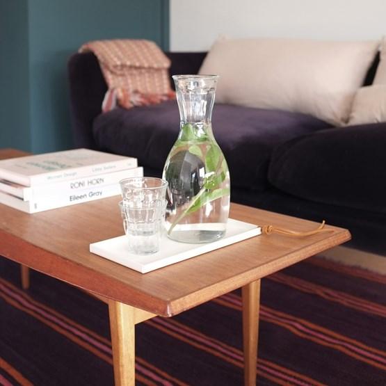 Tray CADIE rectangular  - White - Design : Gaëlle Pinel Studio