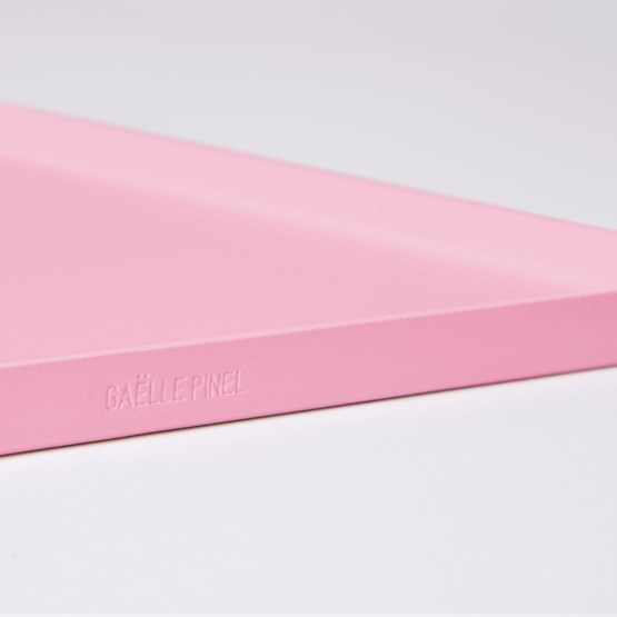 Tray CADIE rectangular  - Pink - Design : Gaëlle Pinel Studio