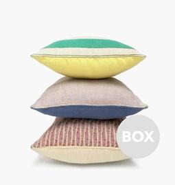 Coussin en Lin Design - Box 50