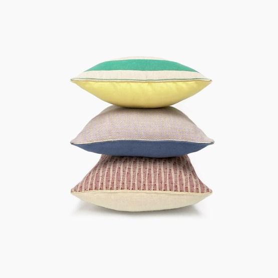 Coussin en lin design MIX&MATCH - Designerbox X CELC - Design : Serge Bensimon