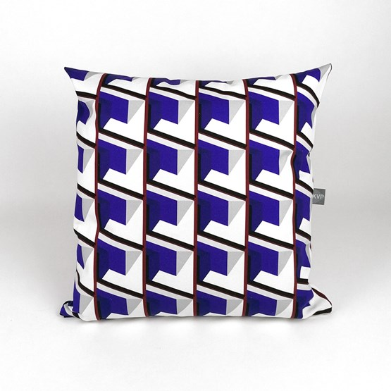 Front Block Cushion - Design : KVP - Textile Design
