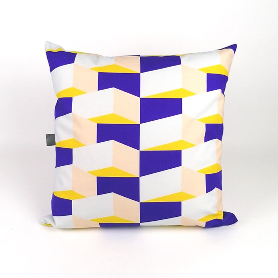 Coussin Volume Block 03 - Design : KVP - Textile Design