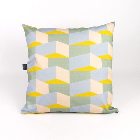 Coussin Volume Block 05 - Design : KVP - Textile Design