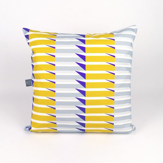 Balcony 002 Cushion - Design : KVP - Textile Design