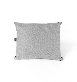 Quilted Wool Light Grey 1F Cushion