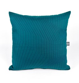 Quilted Cotton Emerald Cushion