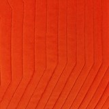 Coussin Quilted Velvet Orange 5