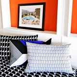 Jacquard Block Cushion 11