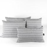 Jacquard Block Cushion 2