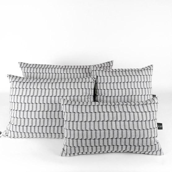 Jacquard Block Cushion - Design : KVP - Textile Design
