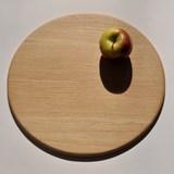 Round serving boards - oak 2