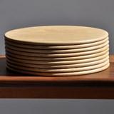 Round serving boards - oak 4