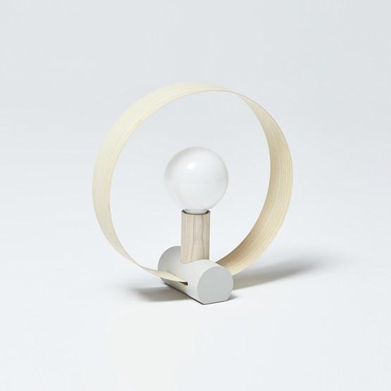 GRAVITÉ table lamp - Ash - Design : Hetch