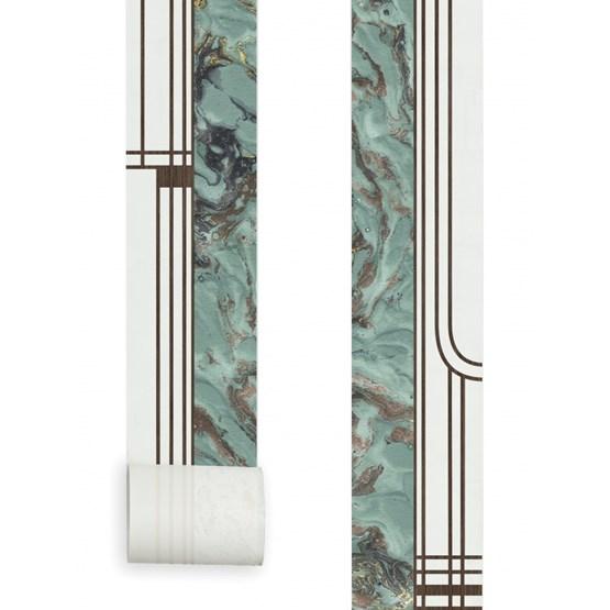Papier Peint Mini Lé - Saphir - Design : Aurélia Paoli