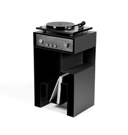 Turntable furniture - JEUSTENE - Black
