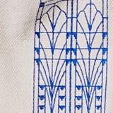 Housse de coussin Vitrail - bleu  3