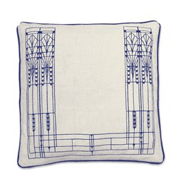 Cushion Vitrail - Blue