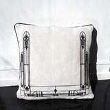 Cushion Vitrail - black 4