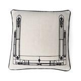 Cushion Vitrail - black 2
