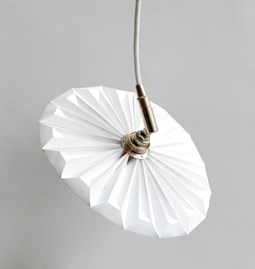 Portable lamp Piléa - white